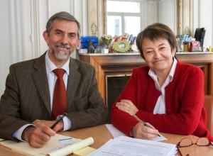 Fracnoise Lalanne et Didier Rauch